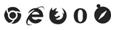 navigateurs logos