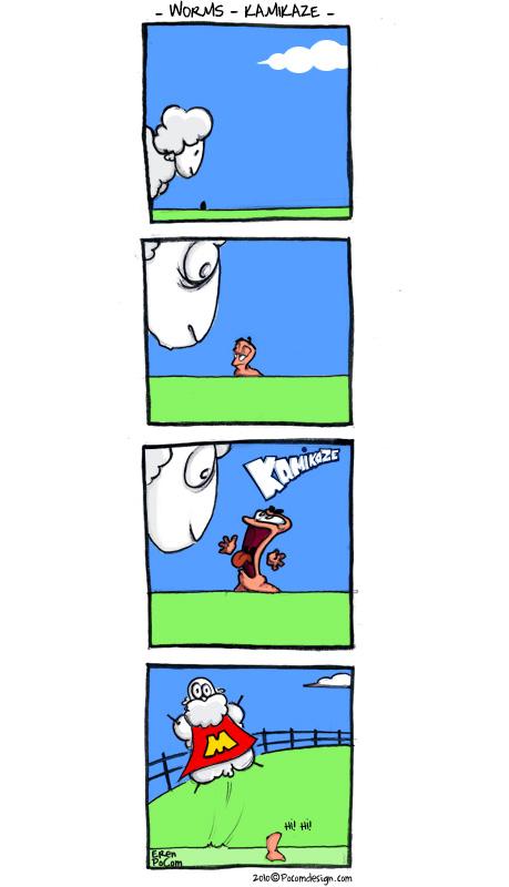 Worms Kamikaze