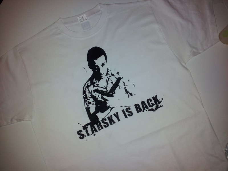 Starsky is back - face