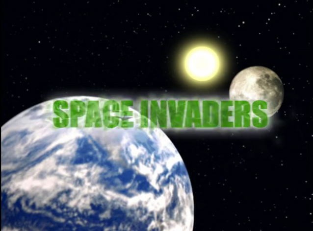 Space Invaders - titre