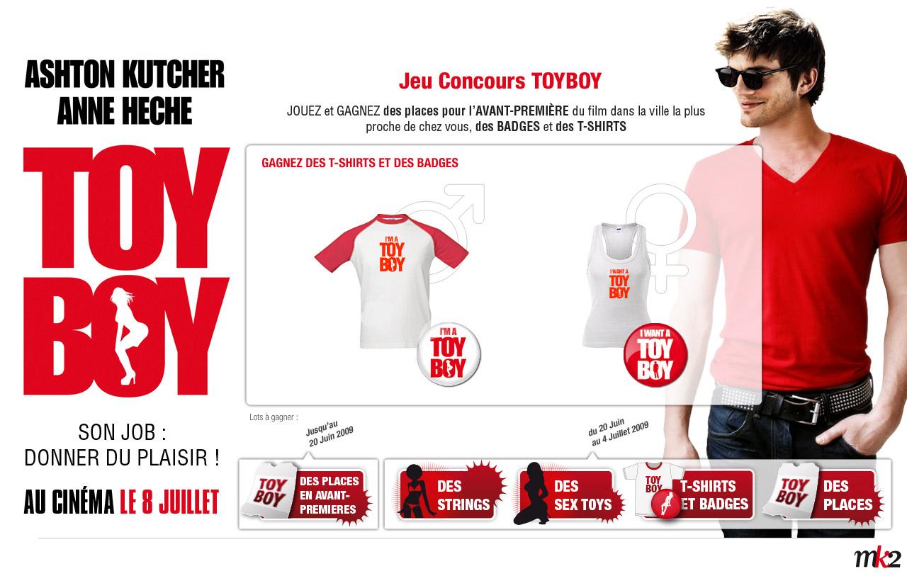 ToyBoy jeu Concours tshirt
