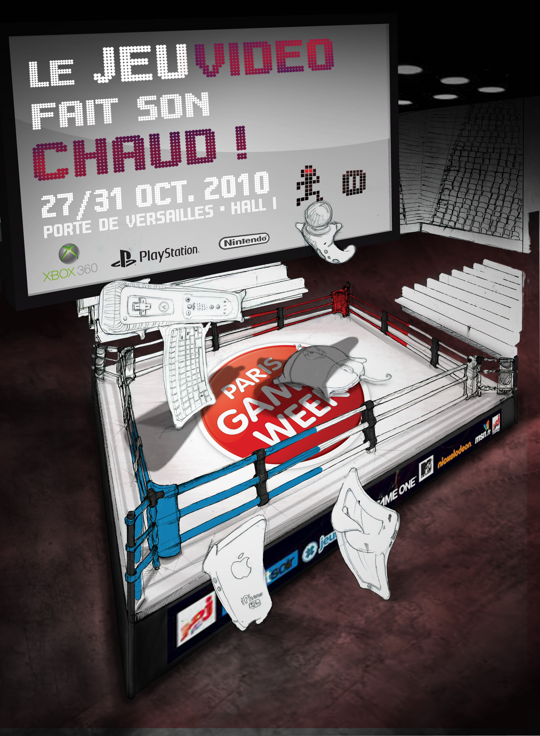 affiche Paris Games Week étape 06