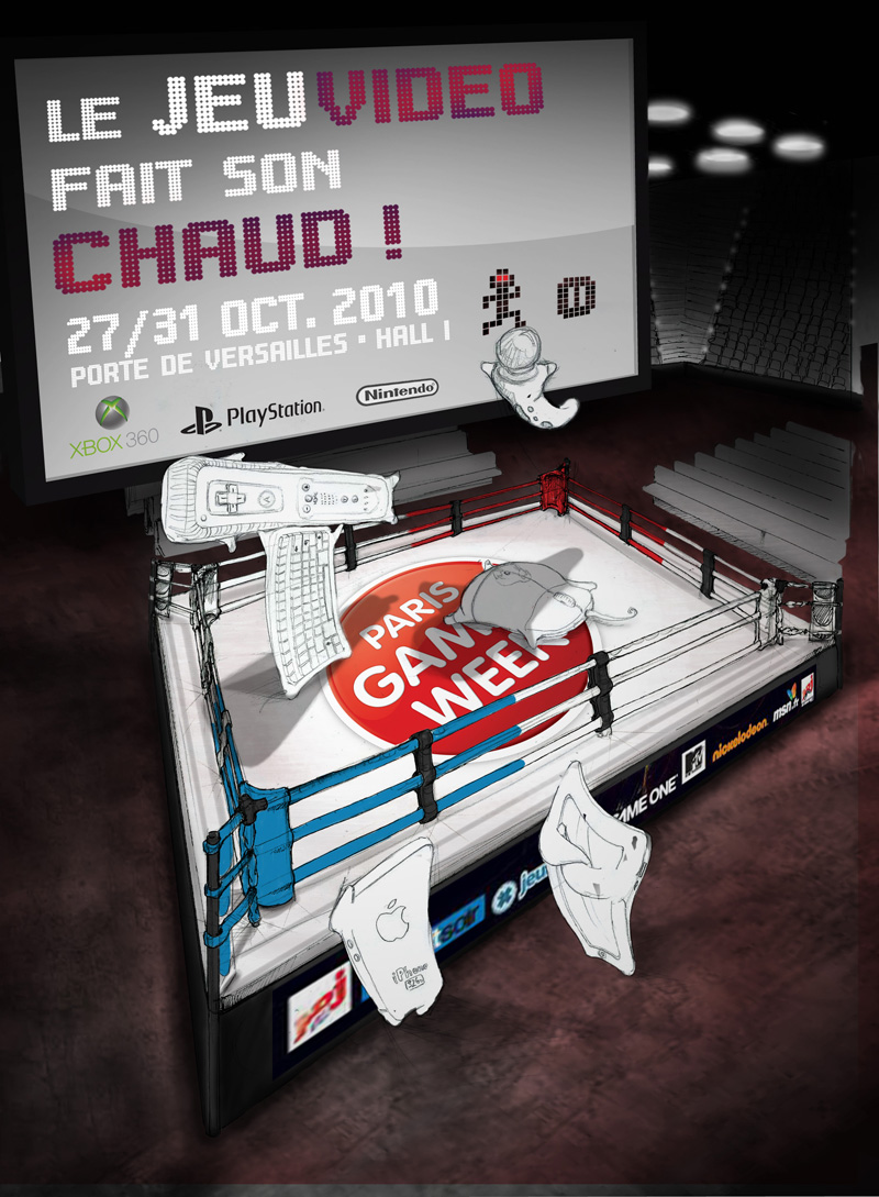 affiche Paris Games Week étape 07