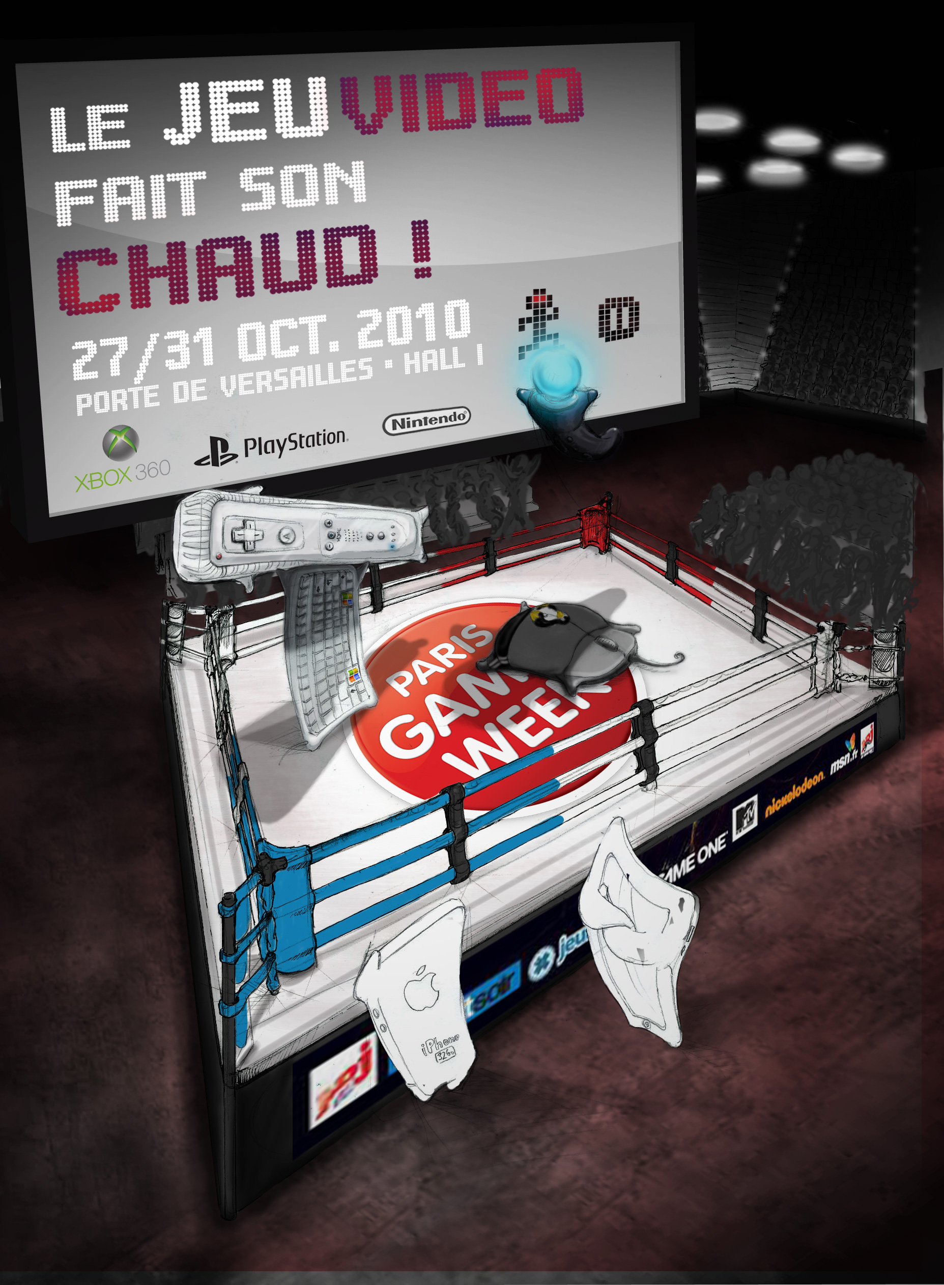 affiche Paris Games Week étape 09
