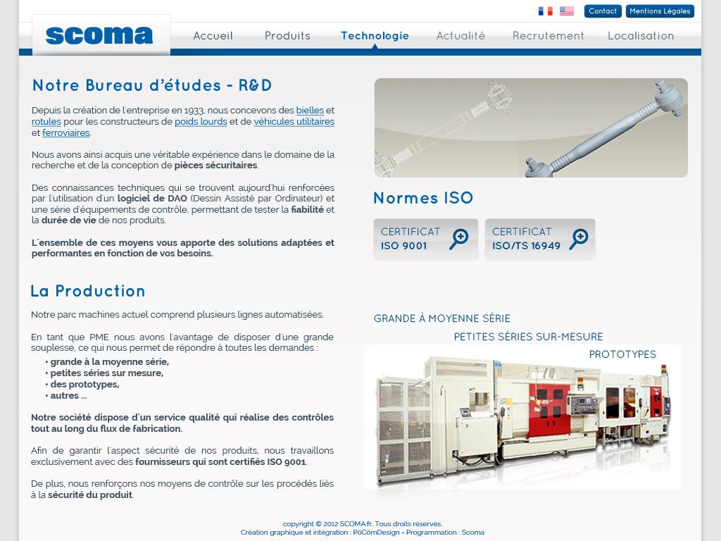 scoma - site web