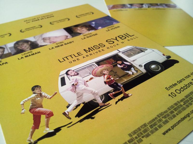 Little Miss Sybil - Faire Part de Naissance