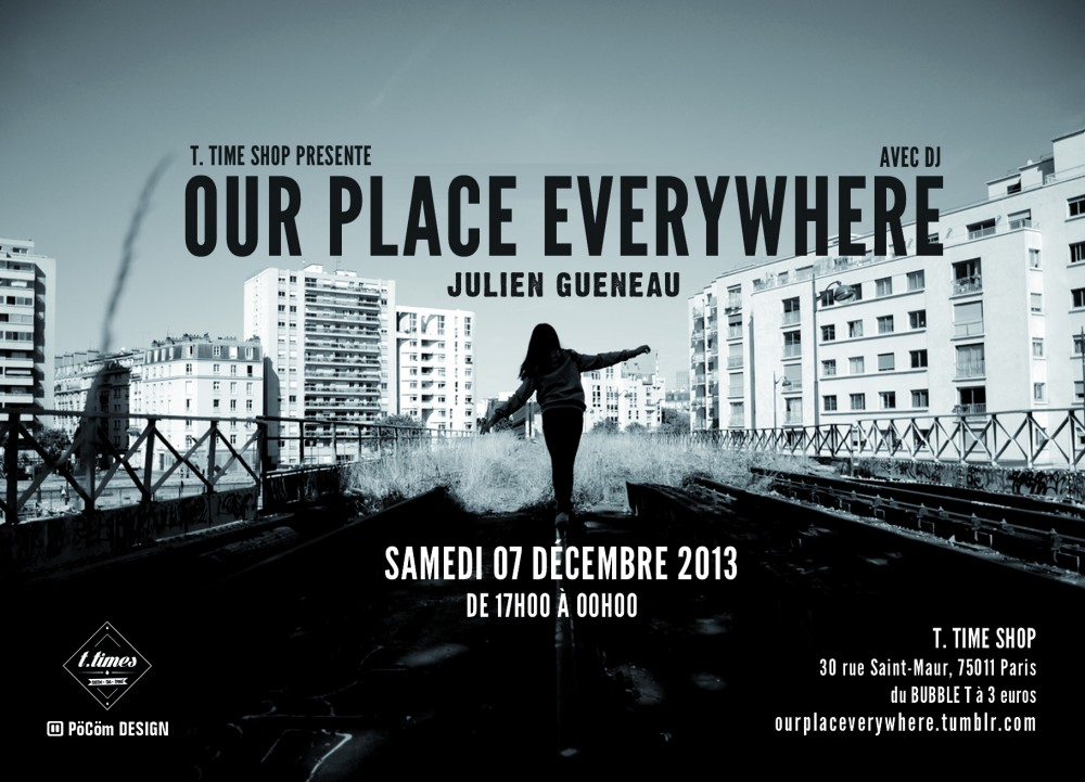 Our Place Everywhere - Flyer recto