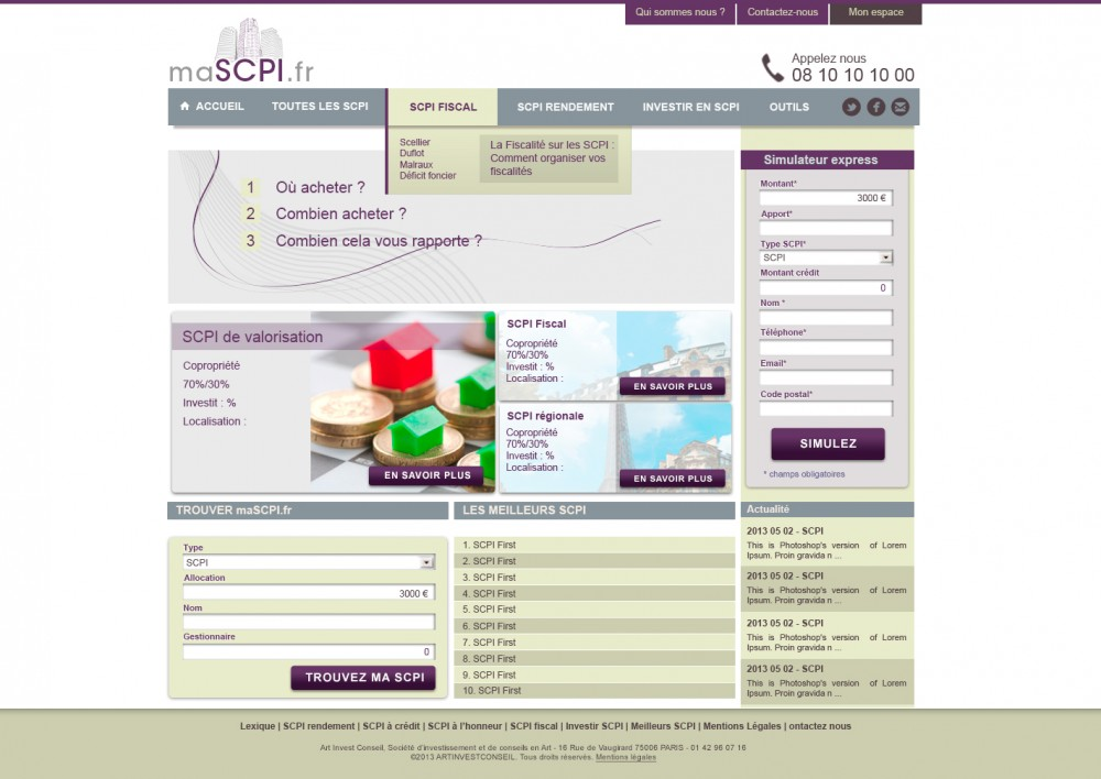 ma SCPI website