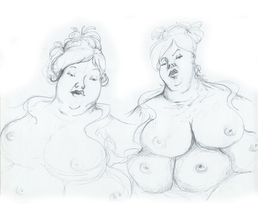 Grosse Dame - expression 03