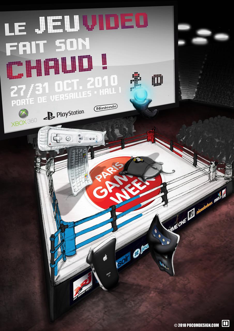 affiche Paris Games Week étape Final