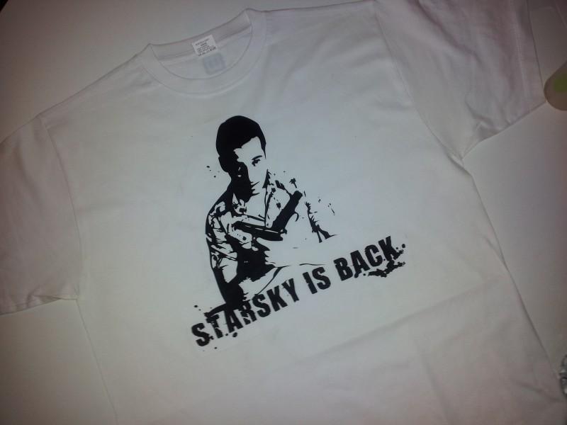 Starsky is back - face