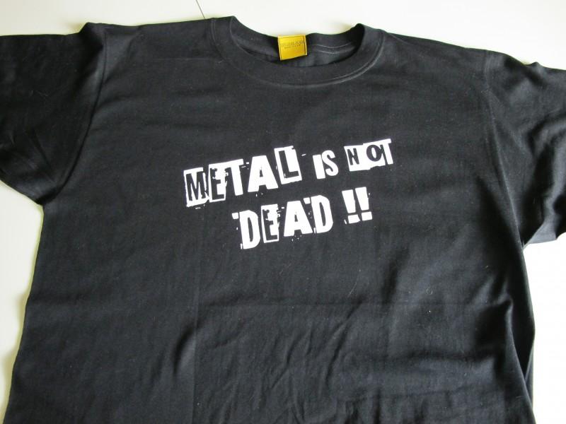 Metal is not dead! - face