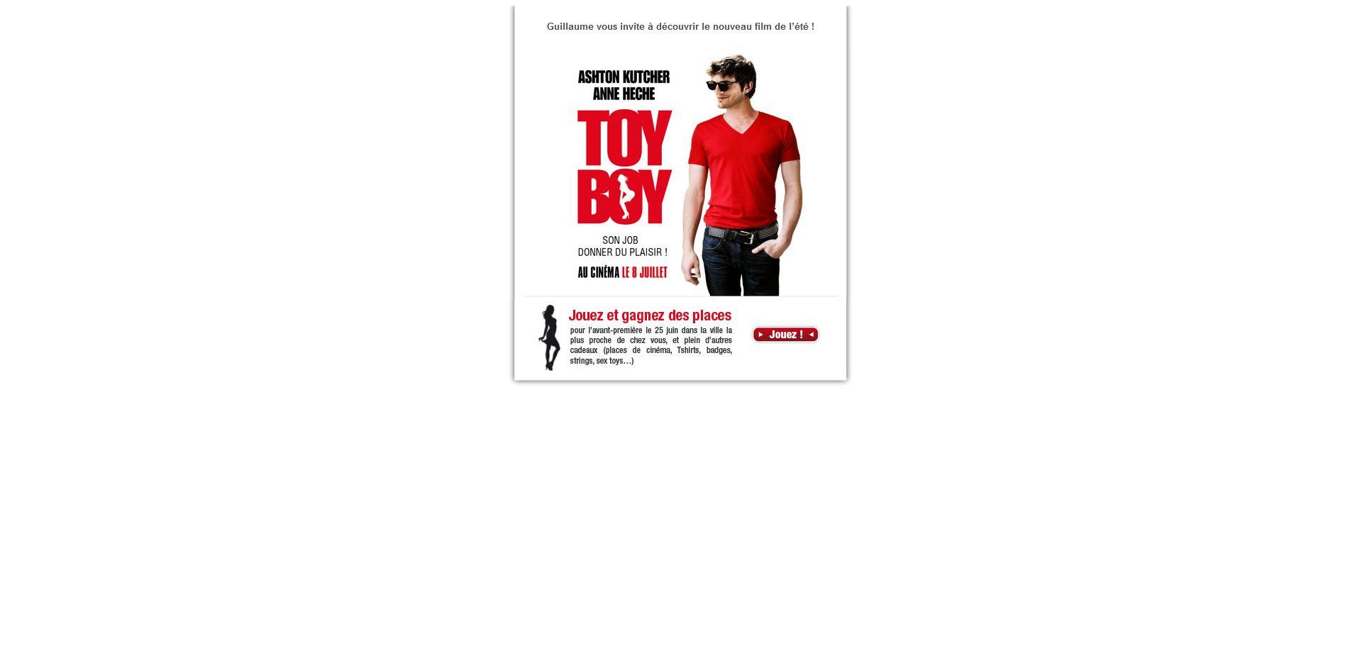 ToyBoy emailing