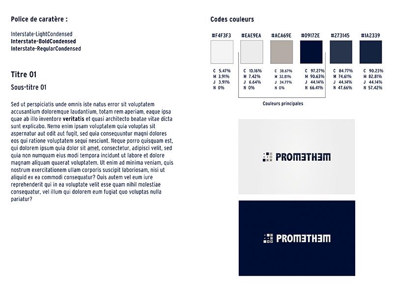 promethem - charte graphique