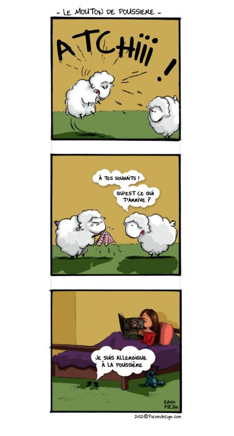 10 Le mouton de poussière
