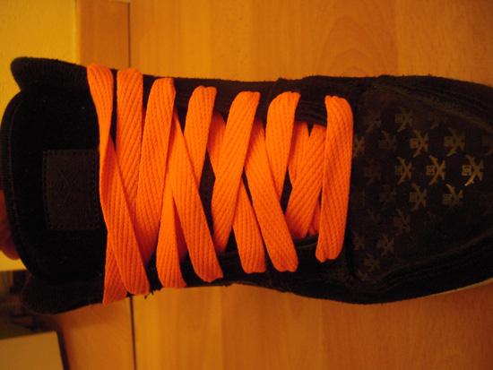 Photo Shoes Orange