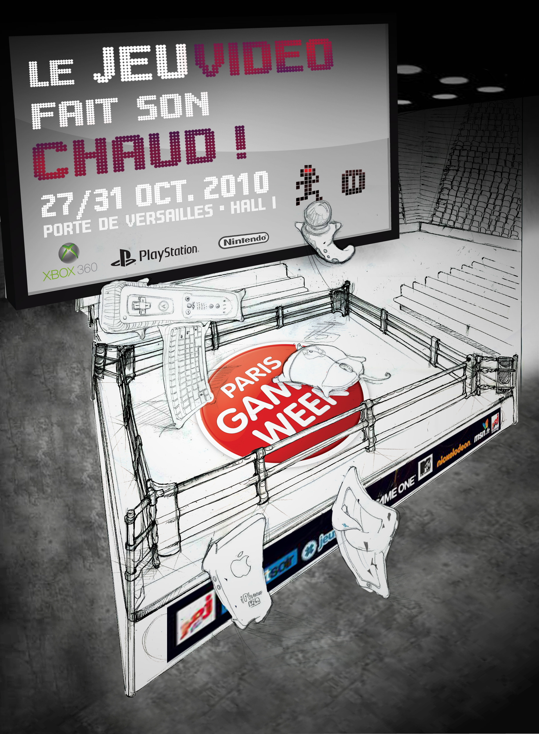 paris games week - concours d u0026 39 affiche