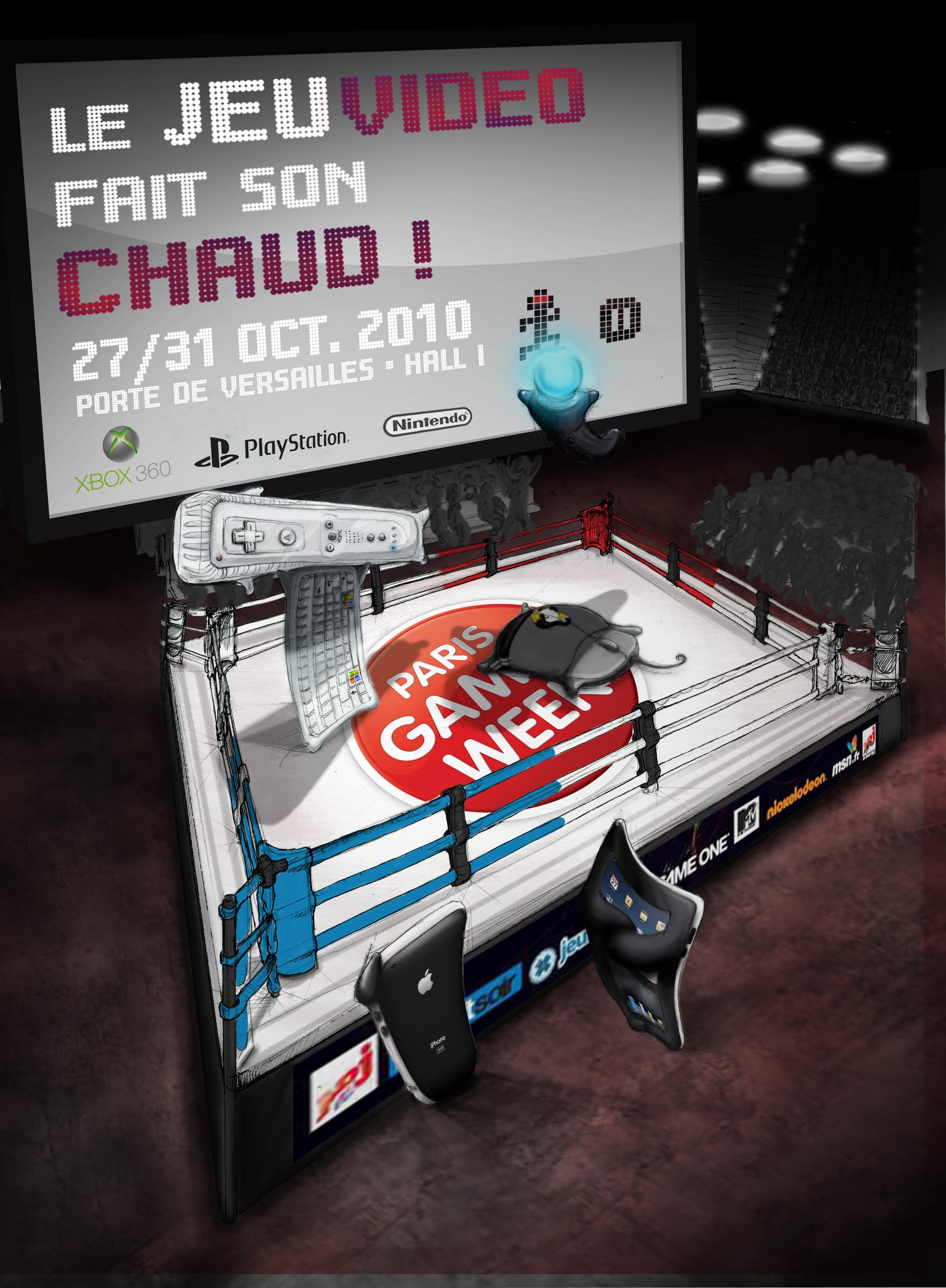 affiche Paris Games Week étape 10